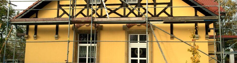 Fassadengestaltungen an Ein- und Mehrfamilienhäusern im privaten und öffentlichen Bereich