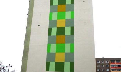 Fassadengestaltung Wohnungsgenossenschaft Großenhain